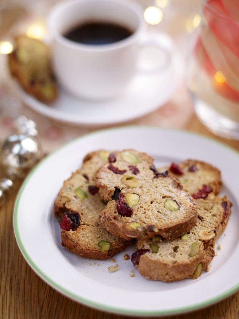 Christmas Biscotti Vegetarian Recipe