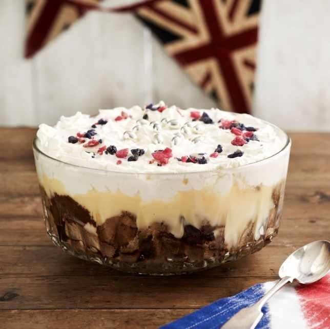 Brownie Mocha Trifle Recipe: Coffee Trifle Dessert