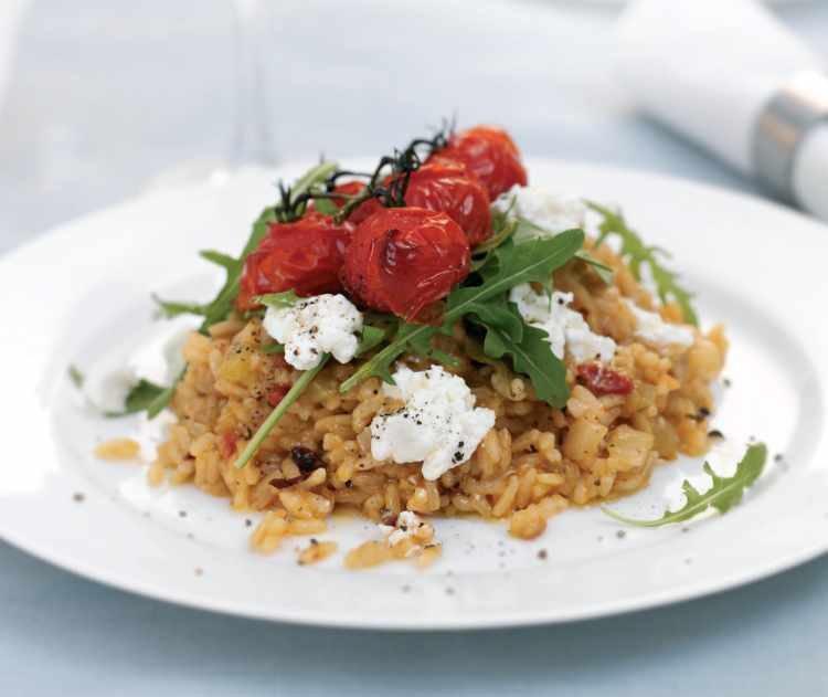 recipe: tomato risotto recipe vegetarian [35]