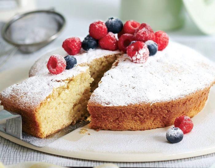 Cake Recipes In Veg: Vegan Vanilla Cake Vegetarian Recipe