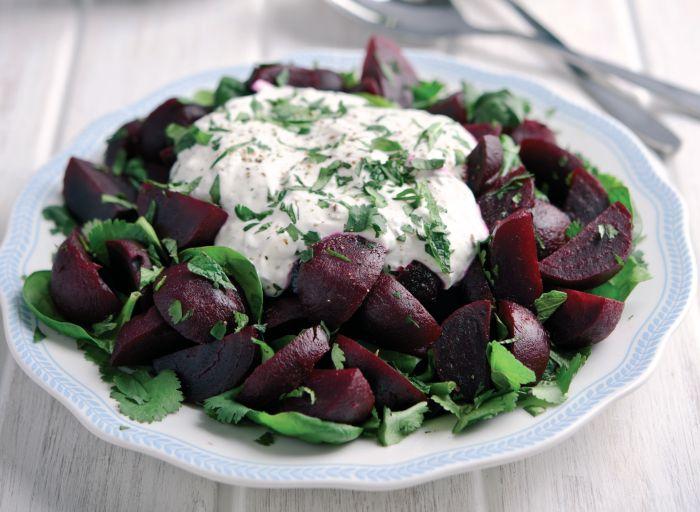 Moroccan Beetroot and Herb Salad Vegetarian Recipe