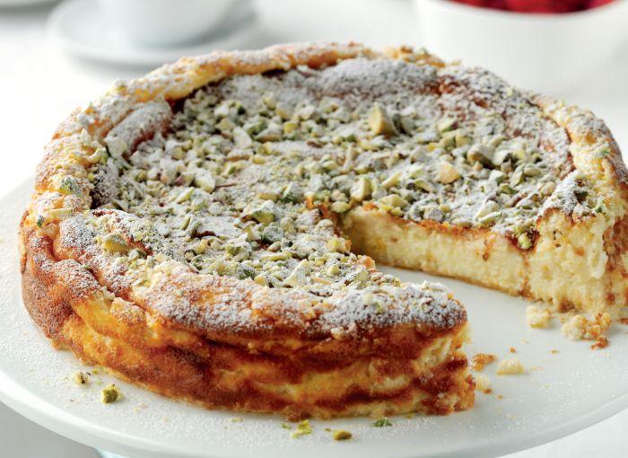 Cake Recipes In Veg: Turkish Quark Cake Vegetarian Recipe