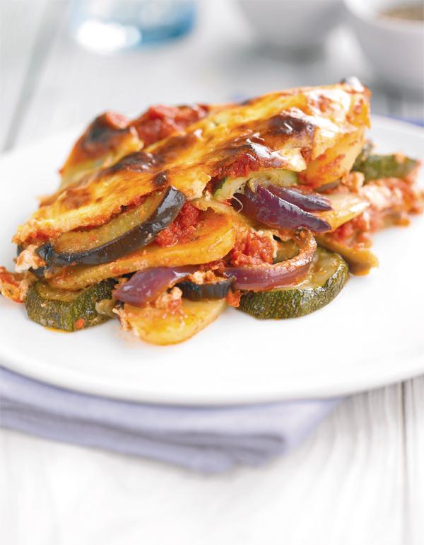 Vegetable Moussaka Vegetarian Recipe