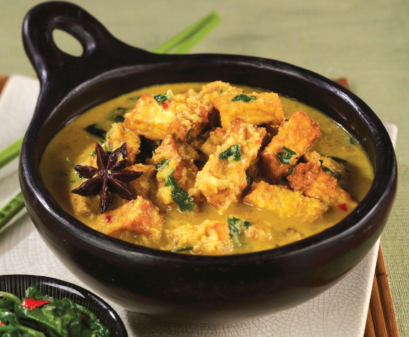 Malaysian Rendang Curry Vegetarian Recipe